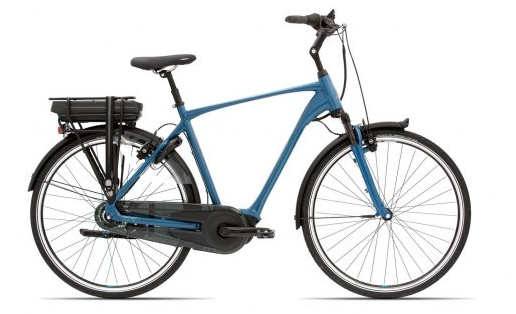 Giant Grandtour E+2 2019 Steel Blue Heren